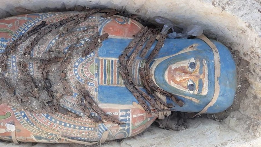 Eight Egyptian mummies uncovered in epic find at ancient site (PHOTOS)