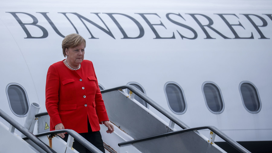 Angela Merkel's Plane in Emergency Landing after Technical Glitch