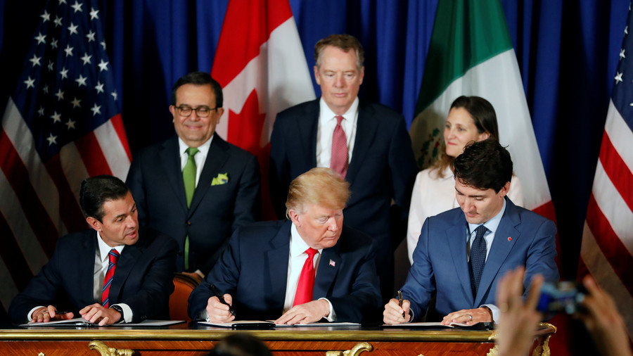 New NAFTA: US inks trade agreement with Canada and Mexico at G20 summit