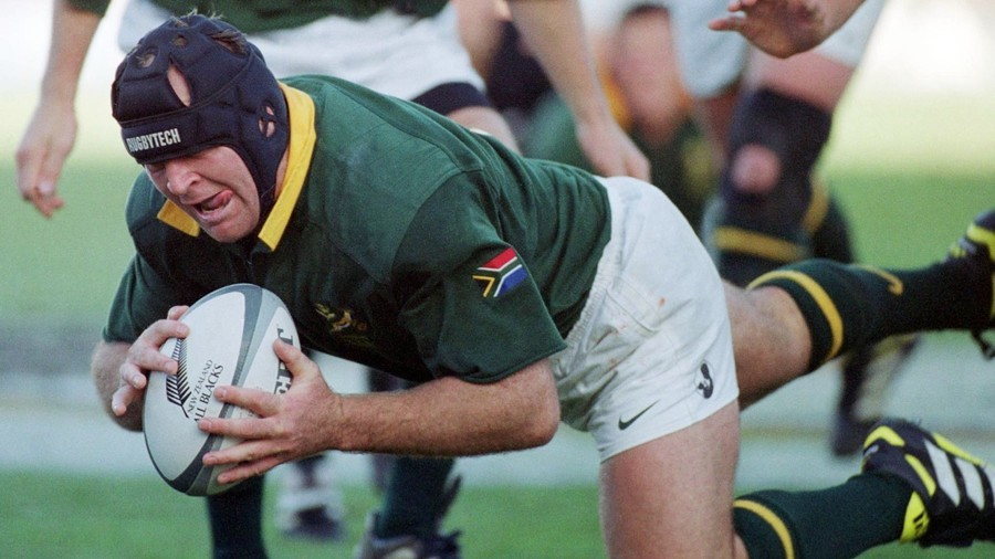 Ex-Springbok Naka Drotské shot three times as he rugby tackled burglars