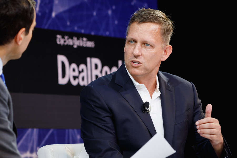 'I'm not a vampire,' says billionaire Peter Thiel after years of young blood injection rumors