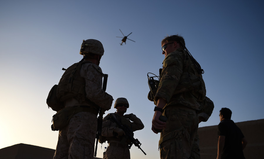 US soldier killed in 'apparent insider attack' in Kabul - NATO