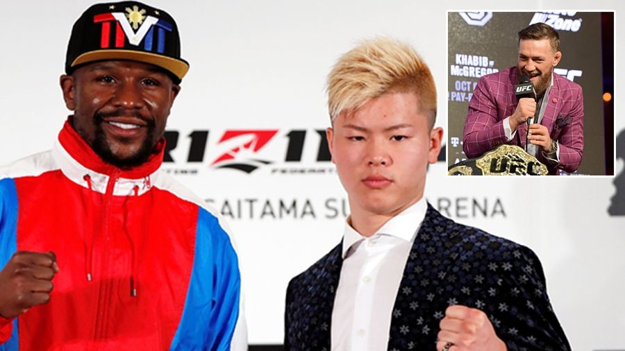 'Chris Tucker and f***ing Jackie Chan' – McGregor weighs in on Mayweather Rizin fight