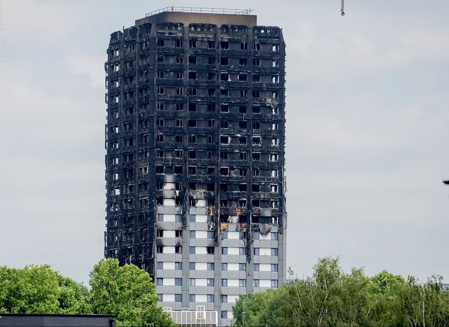 'Unforgivable cowardice': Company 'gagged' from criticizing May in wake of Grenfell fire