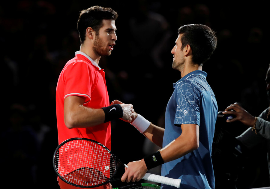 Back on top, Djokovic eyes sixth ATP Finals crown