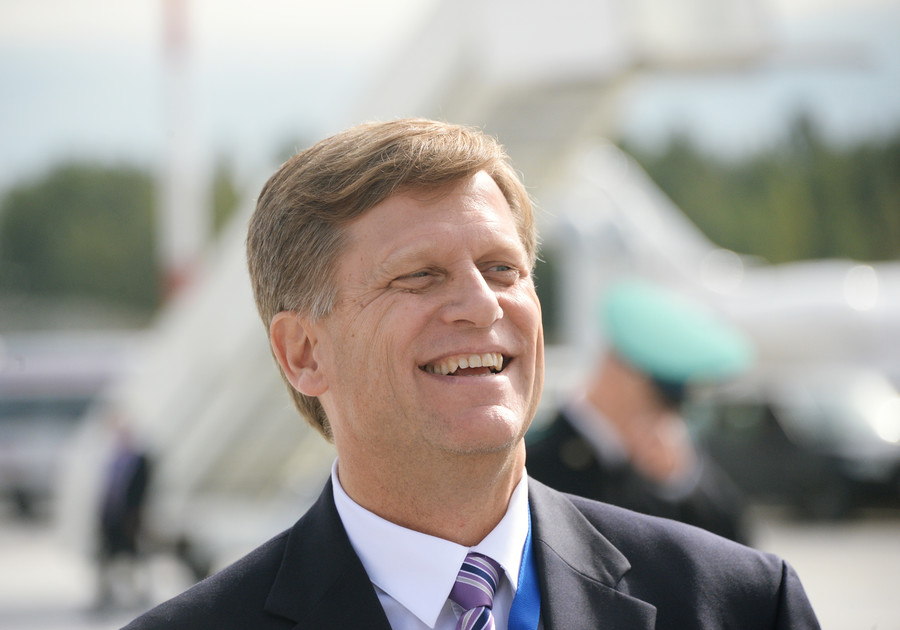 Ex-ambassador McFaul switches to Russian to celebrate midterm victory over…Putin