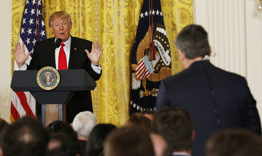 Fake news feud: A brief history of Trump and CNN's Jim Acosta yelling at each other