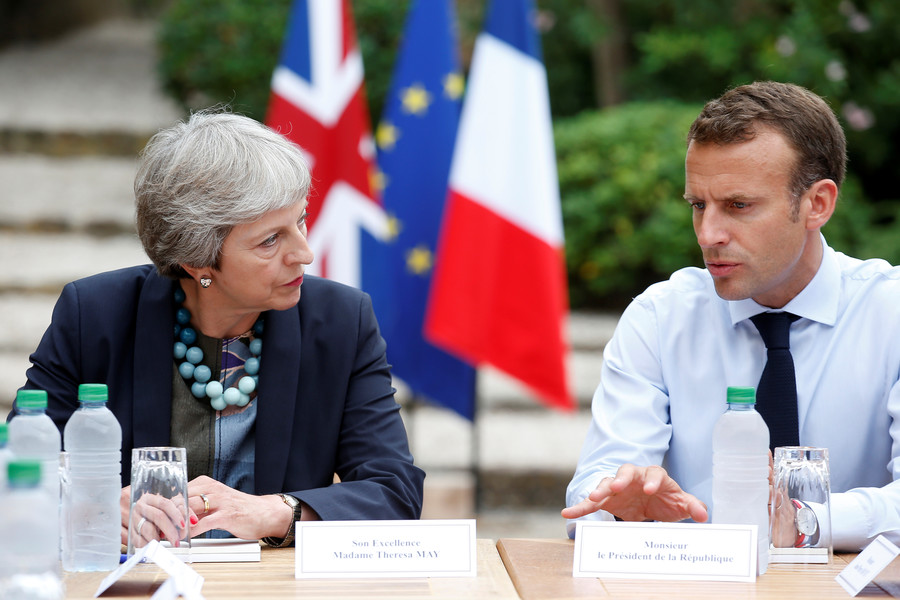 May and Macron told to strengthen NATO alliance to counter 'unpredictability' of Trump