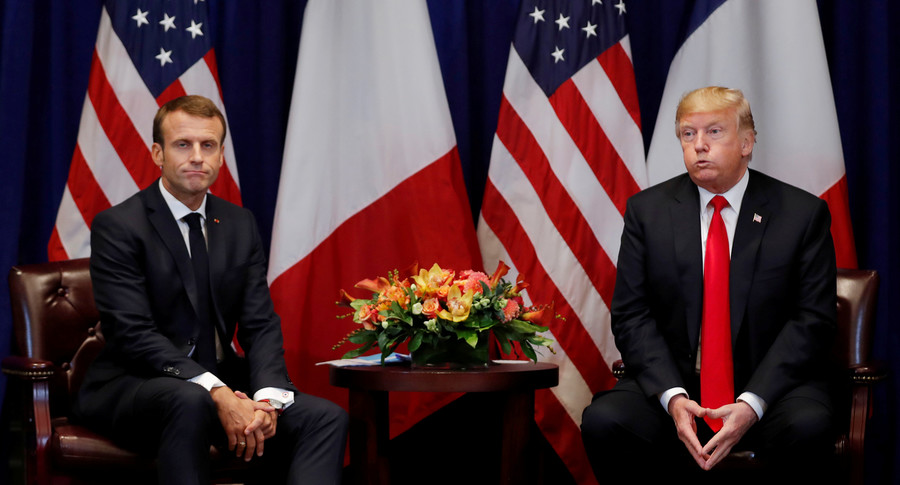 America first not to come: Trump to snub Macron-favored Paris Peace Forum