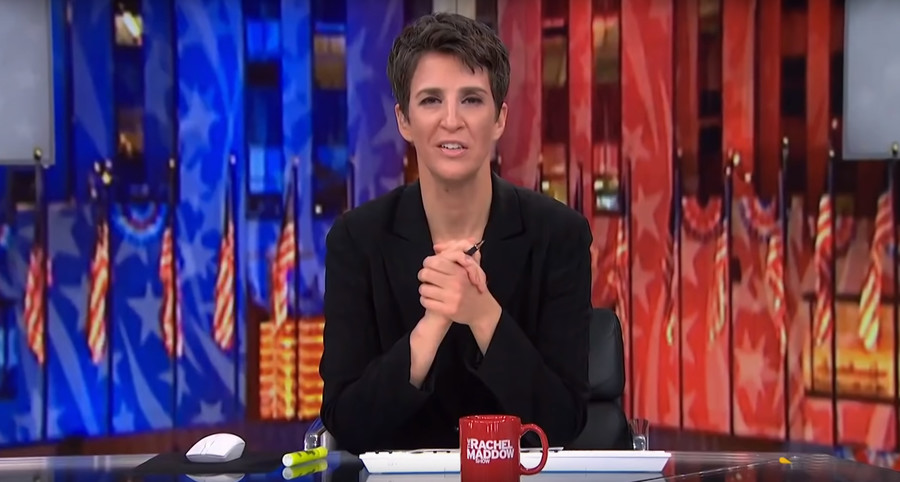 Double standard? Rachel Maddow roots for #Resistance on Twitter