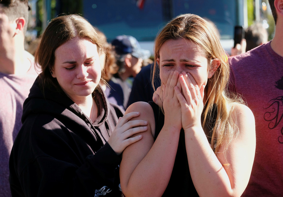 Tragedy strikes twice for California shooting survivors who witnessed Las Vegas massacre