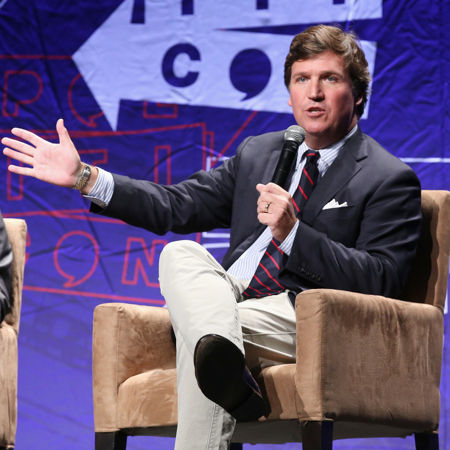 Antifa protest at Tucker Carlson's home investigated as possible hate crime