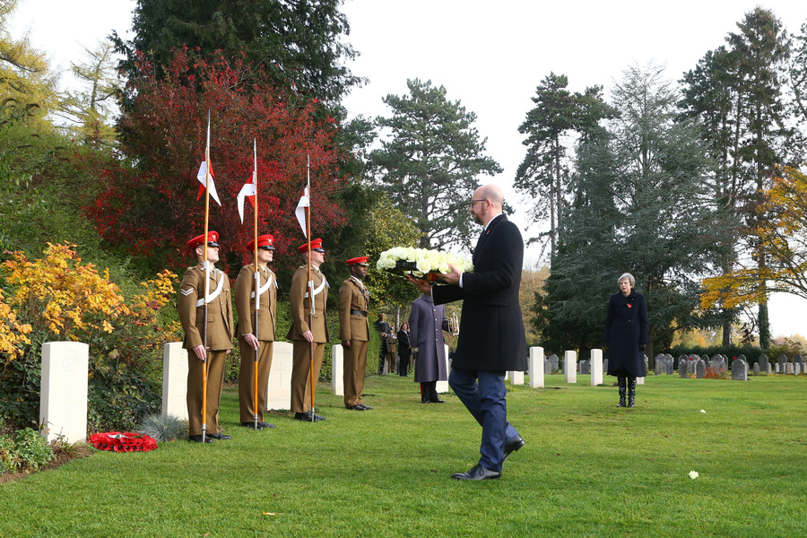 Armistice centenary: Theresa May will lay wreaths in Belgium and France