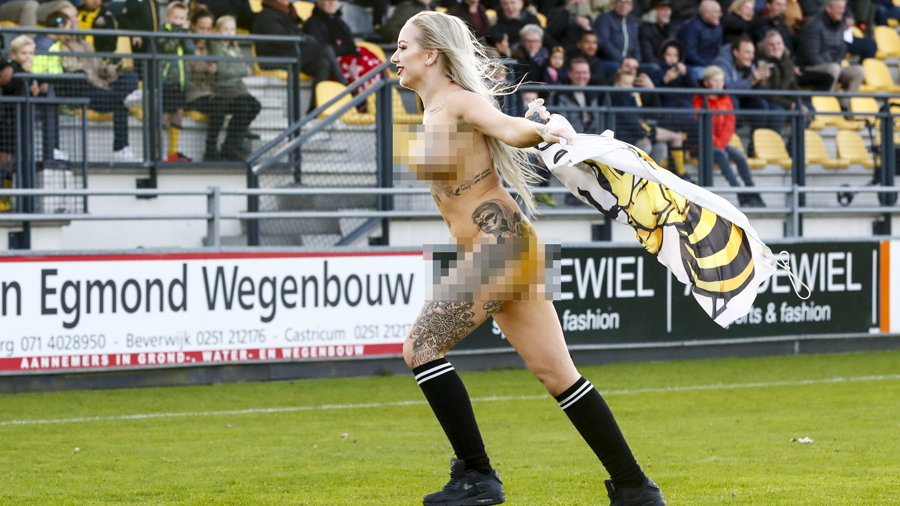 Dutch football fans hire stripper to distract opponents ...