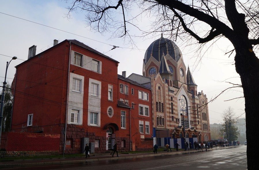 Synagogue destroyed by Nazis on Kristallnacht opens in Russia (PHOTOS)
