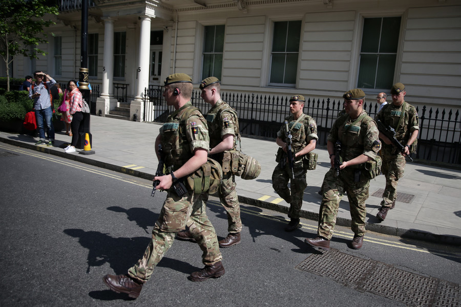British Army 'ready to help' in case of no-deal Brexit – general