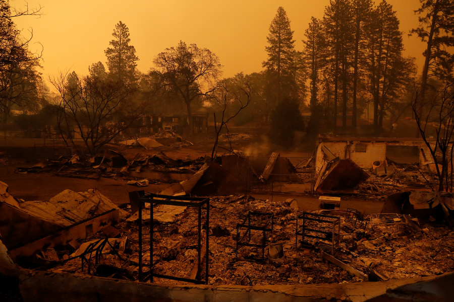 California carnage: 42 dead in wildfires, 200 missing, 250k evacuated (PHOTOS, VIDEOS)