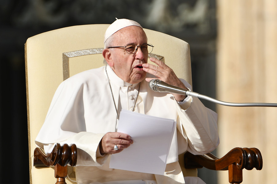 'The tongue kills like a knife': Pope Francis equates gossiping with terrorism