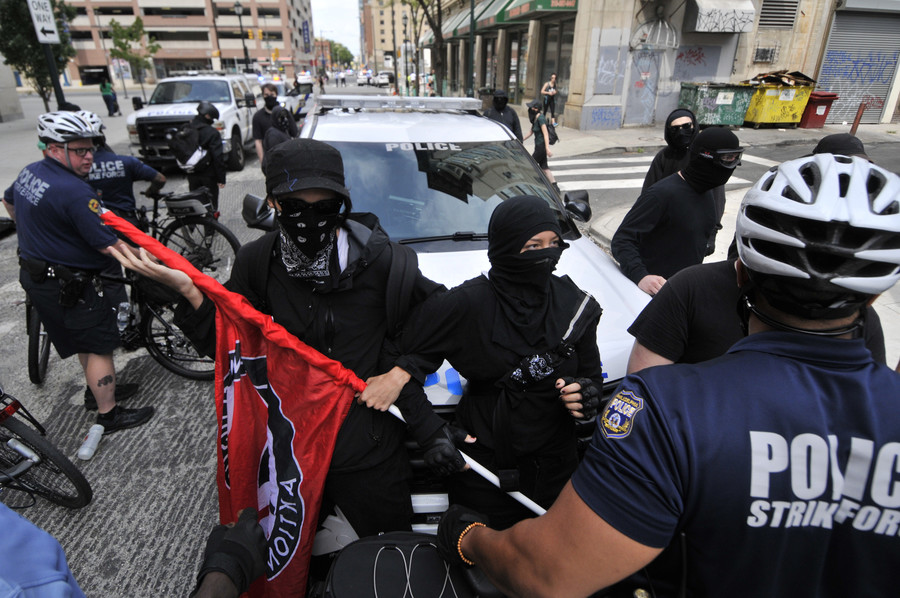 'Tougher, smarter & angrier': Trump warns Antifa had better hope the 'other side' doesn't mobilize