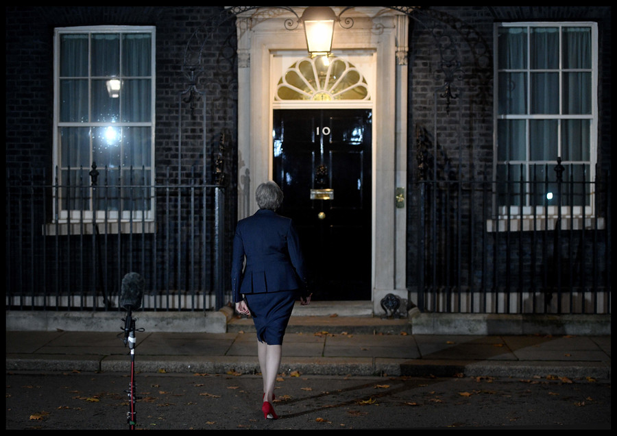 End of May in November? 'UK PM will be very lucky to get through the weekend'