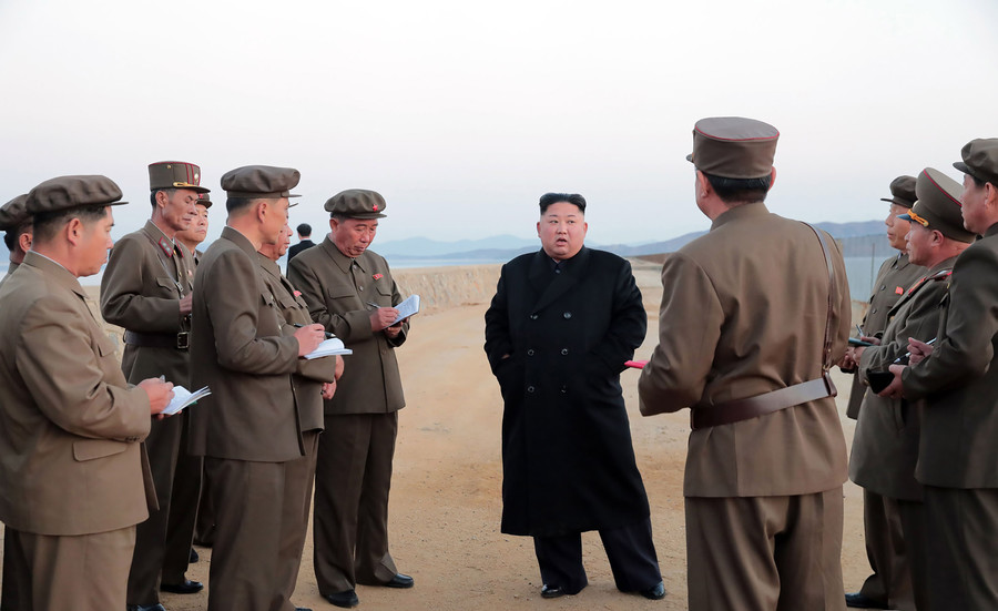North Korea tests mysterious new 'high-tech' tactical weapon