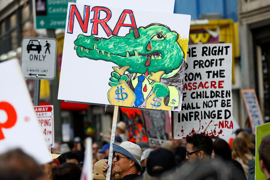 'Thoughts & prayers': Twitter laughs as NRA bleeds out financially