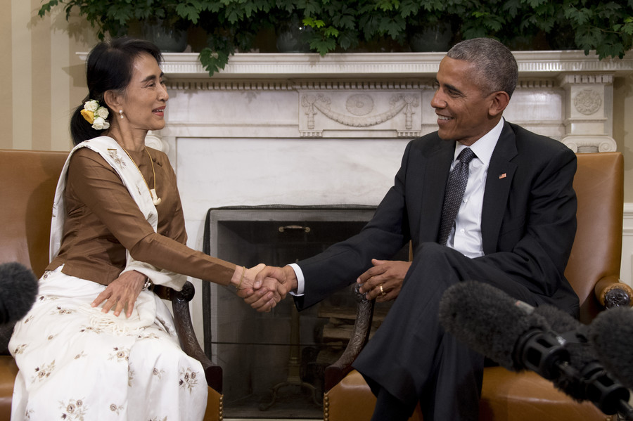 Amnesty strips Aung San Suu Kyi of its highest honor; Obama's Nobel Peace Prize should be next
