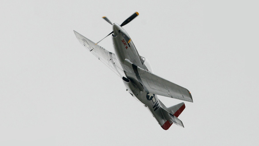 WWII-era fighter plane crashes in Texas during re-enactment show (PHOTOS)