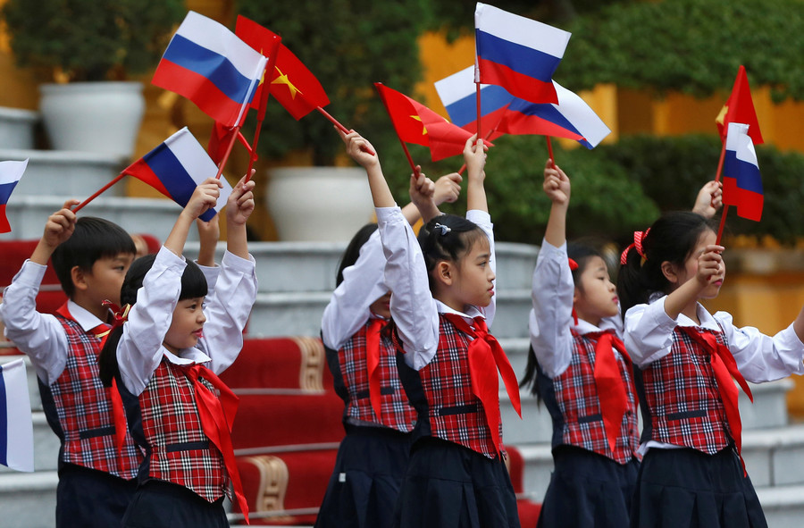 Russia and Vietnam aim to triple trade turnover by 2020