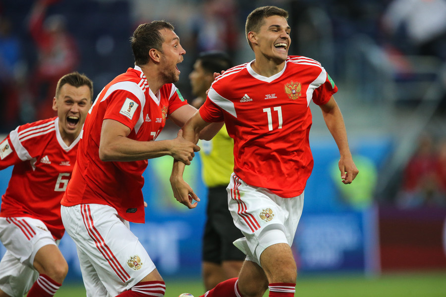 Russia miss out on UEFA Nations League promotion after defeat in Sweden