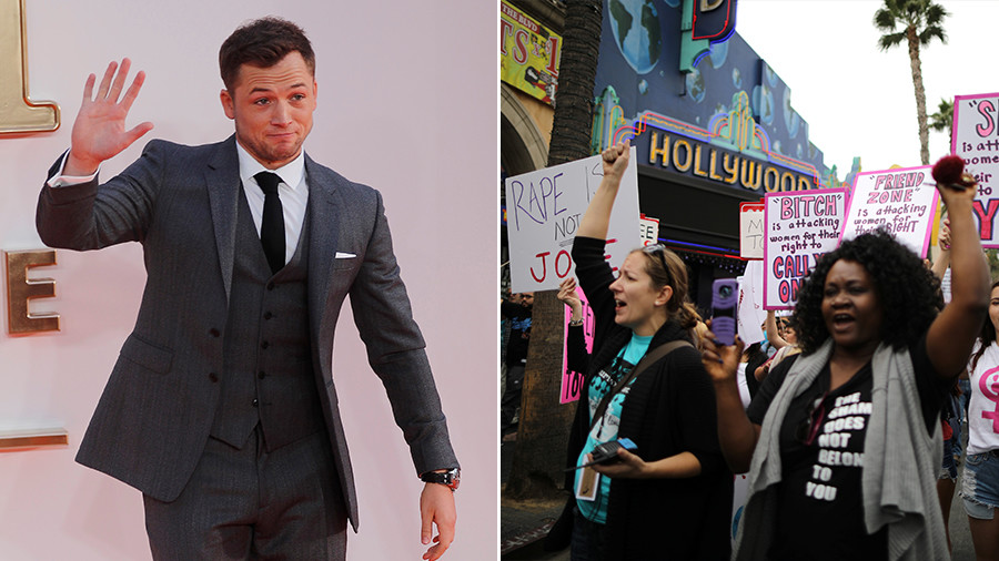 Walking on #MeToo eggshells? British star Taron Egerton says he now avoids being alone with women