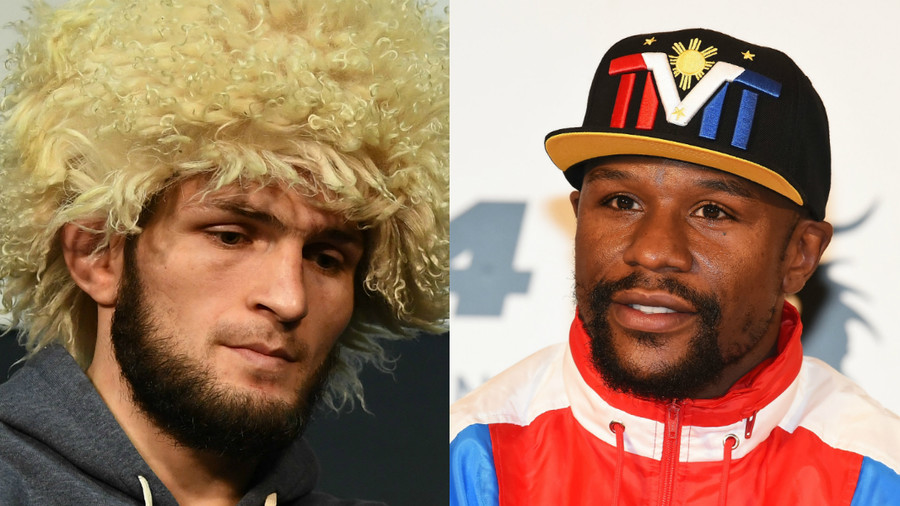 Khabib 'could fight Floyd' when UFC contract expires but Mayweather needs 'life insurance' - manager
