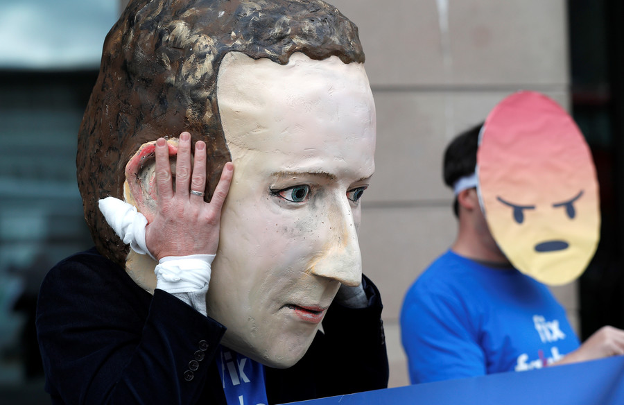Zuckerberg keeps hands clean as Facebook policy chief takes fall for hiring firm to probe Soros