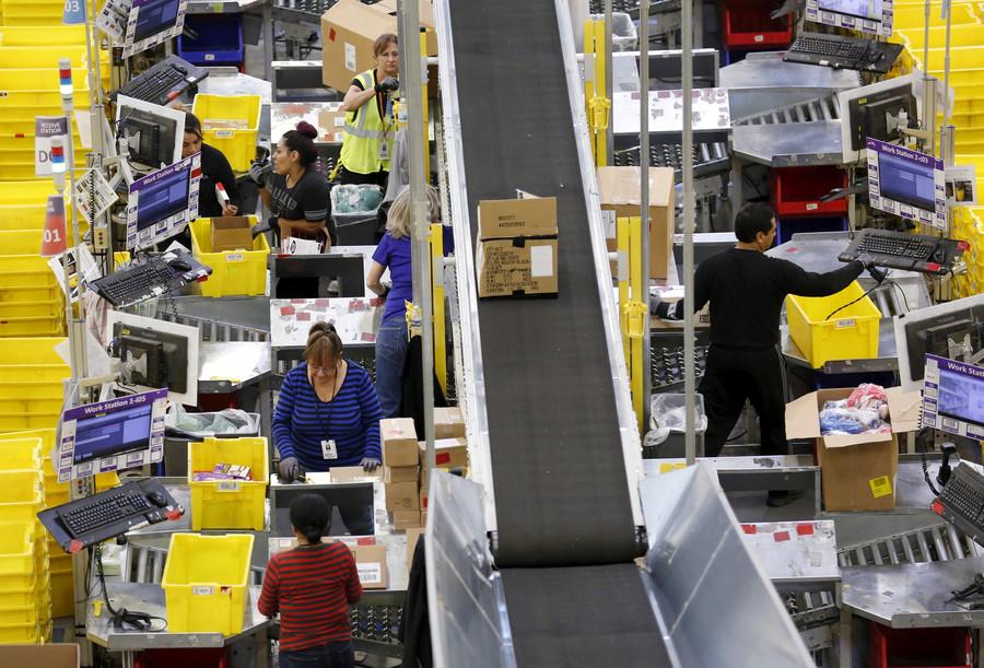 'Electric shocks & broken bones': Amazon workers to protest 'inhuman' conditions on Black Friday