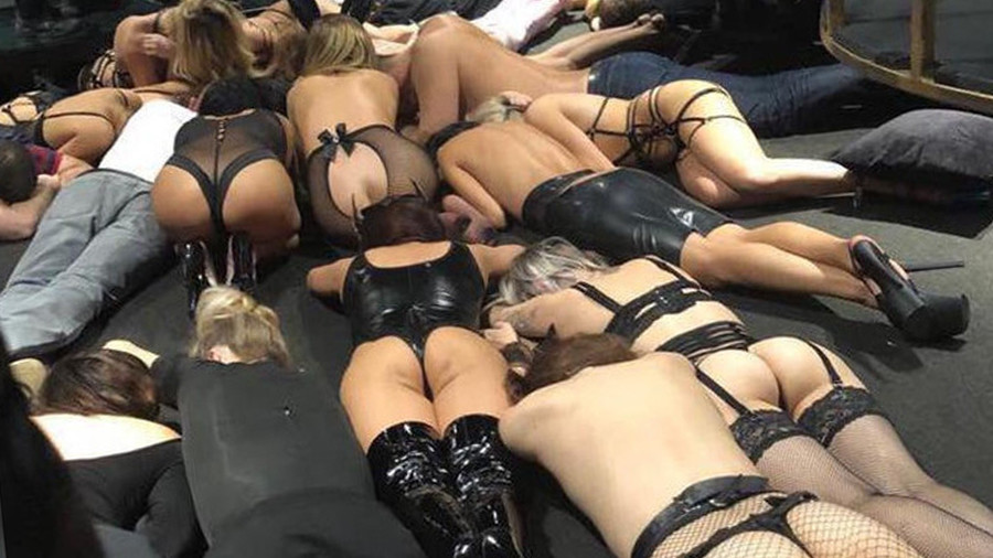 All shades of grey: Russian 'BDSM club raid' video is a MYSTERY after police deny partaking