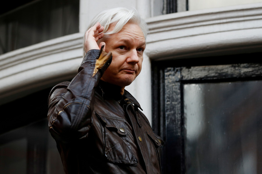 Assange's lawyers blocked from entering Ecuadorian embassy