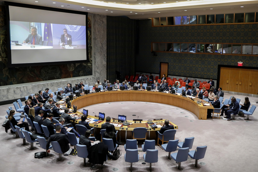 Russia calls for urgent UN Security Council meeting over clash with Ukrainian ships in Black Sea