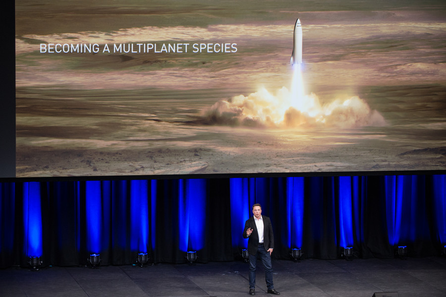 Elon Musk says there is a good chance he'll die on Mars