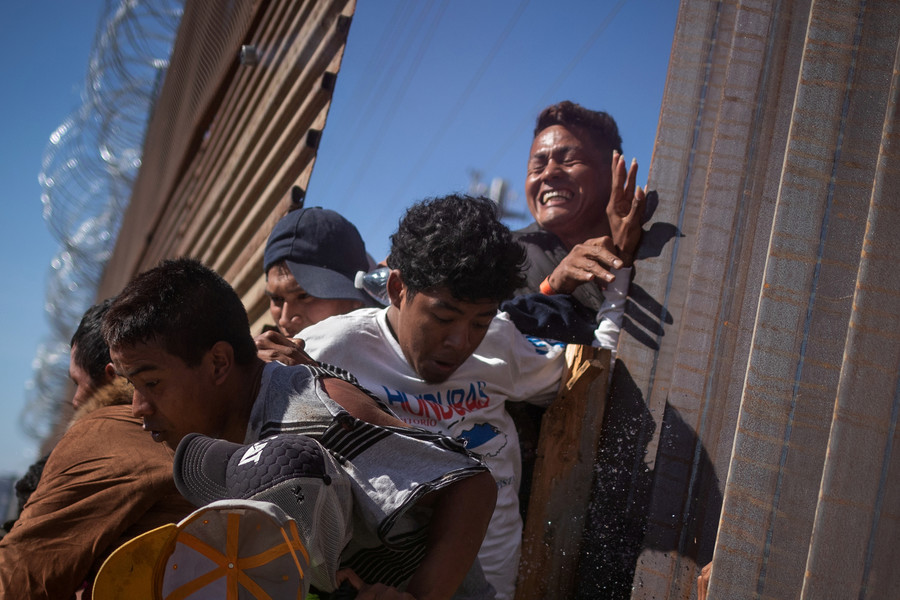'Mostly men, some not seeking asylum': Migrant caravan reporter appears to bust MSM narrative