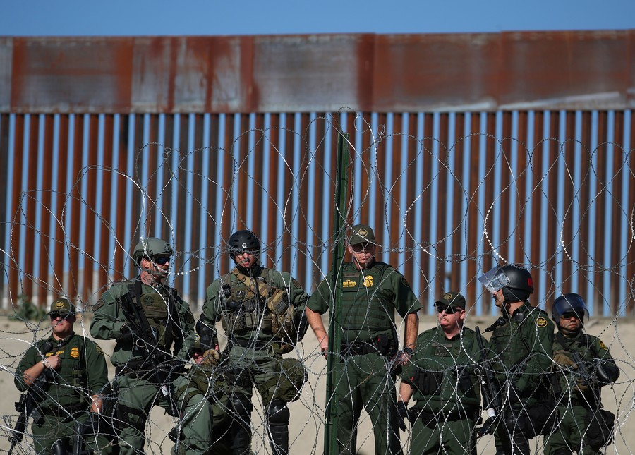 A Peaceful Demonstration Turns Ugly at US Border