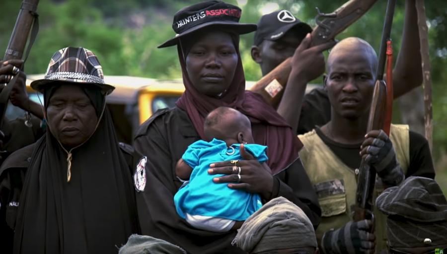 Hunting Boko Haram: Nigerian warrior 'queen' leads flintlock-armed fight against Islamist extremists