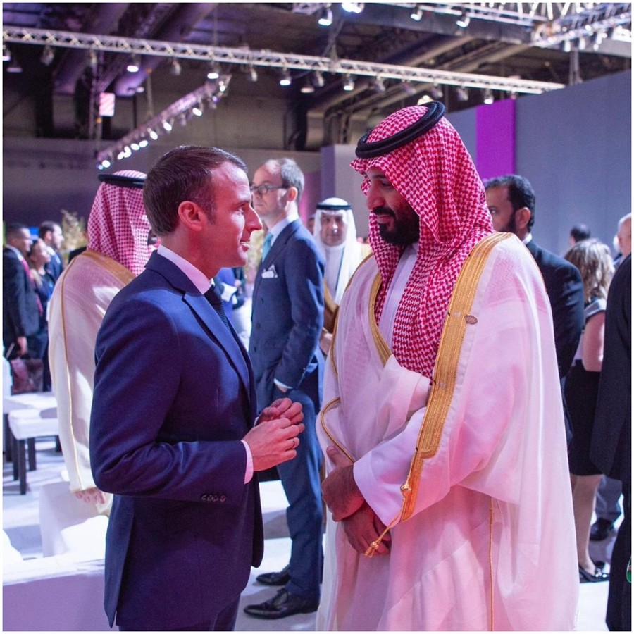 What did Macron & MBS say to each other? Camera catches pally chat at G20 (VIDEO)