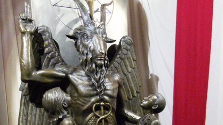 Netflix's 'Sabrina' facing real-life Satanists' wrath for ripping off iconic goat-headed statue