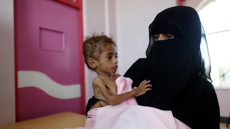 Amid Saudi-led bombing, Pompeo pins responsibility for starvation in Yemen… on Iran