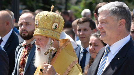 'Go home!' Ukrainian President Poroshenko calls for Russian Orthodox Church to be purged