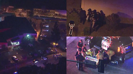12 killed & multiple injured in California bar shooting, terrorism 'not ruled out' (VIDEO)