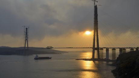 Connecting nations: Russia & China link two parts of сross-border mega bridge