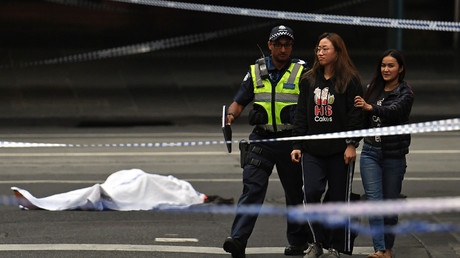 1 killed, 2 injured as knife-wielding attacker goes on rampage in central Melbourne (PHOTO, VIDEO)