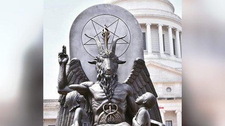 Satanists file $50m lawsuit over 'misused' Baphomet statue in Netflix series