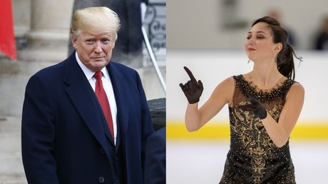 Russian figure-skating 'Empress' says she wants to 'kick Trump's ass' on Twitter & on ice